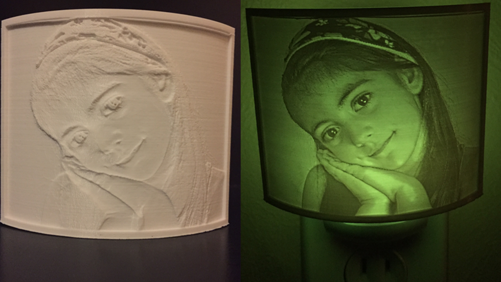 Photo 3D printing, a new way of personal customization