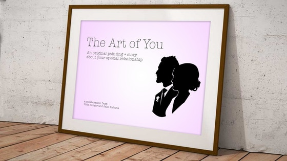 The Art of You — Original Paintings + Stories [Commissions]