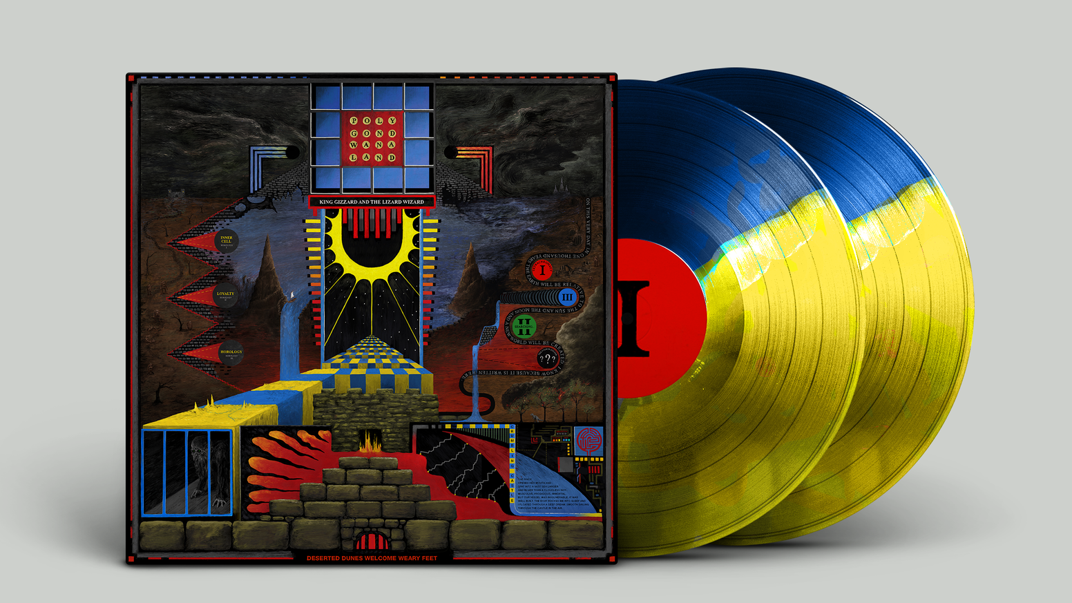King Gizzard Amp The Lizard Wizard Polygondwanaland 45rpm