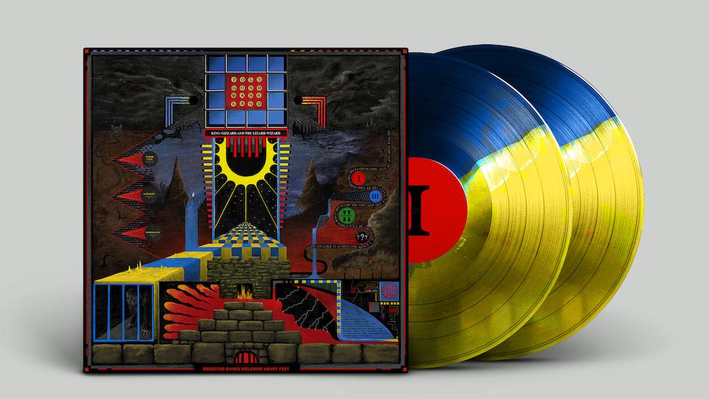 King Gizzard &The Lizard Wizard Polygondwanaland 45RPM Vinyl project video thumbnail