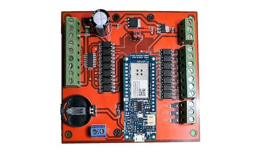 ExControl Shield , Industrial Arduino Mkr