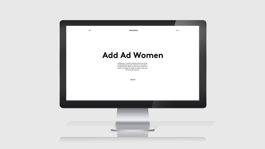 Add Ad Women project video thumbnail