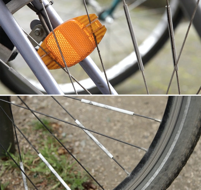 Flectr 360 The Bike Reflector With 360 Visibility By The