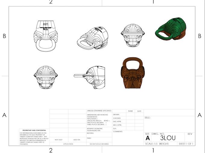 KETTLEBULLS: Bulldog Breed inspired kettlebells by Bob