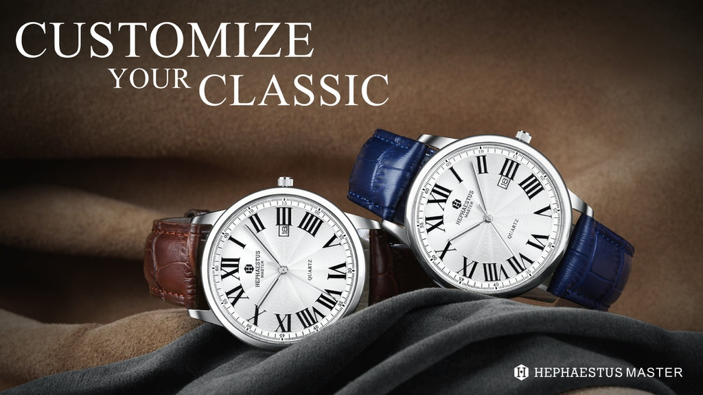 Hephaestus Master Custom watches: classic and conciseness