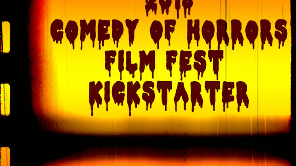 "BoneBat ""Comedy of Horrors"" Film Fest 2018 project video thumbnail"