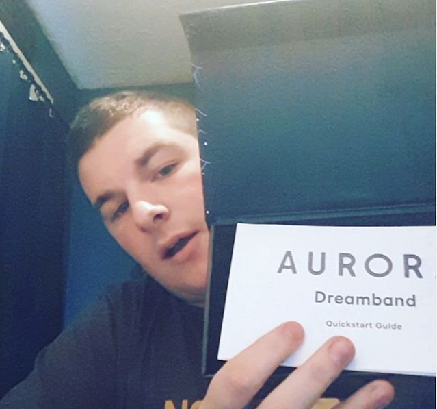 Dylan is excited to receive his Aurora