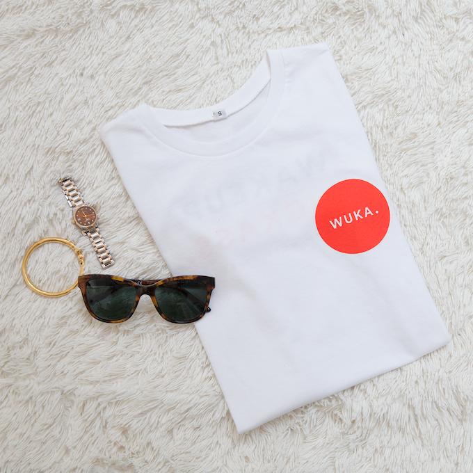 WUKA Backer t-shirt (front)