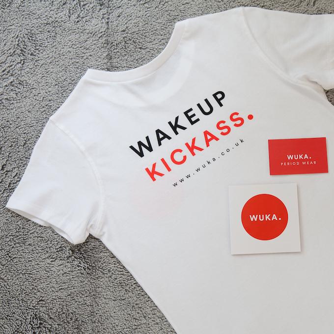 WUKA Backer t-shirt (back)