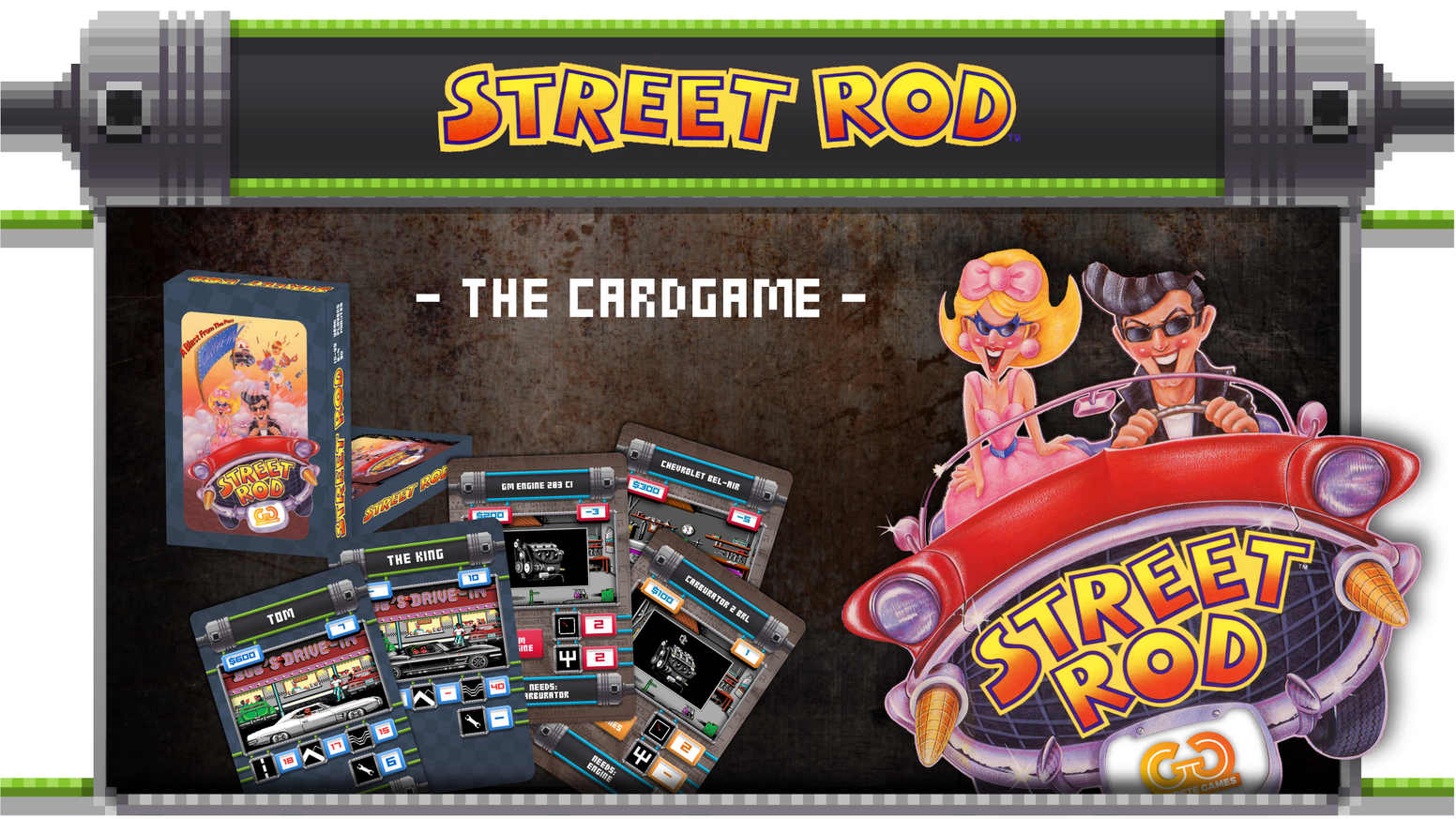 Street Rod - build and race your own Hot Rod. Only €11! by Jan ...