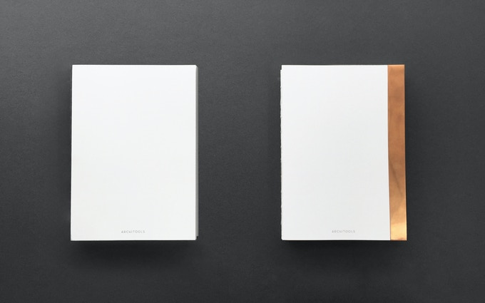 Available in Pure White (left) & Copper Patina (right)