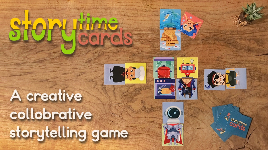 Story Time Cards: A Collaborative Storytelling Card Game