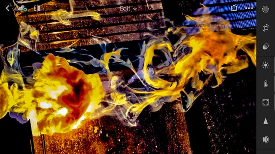 One of kind smoke artist and Spirit painting art photography
