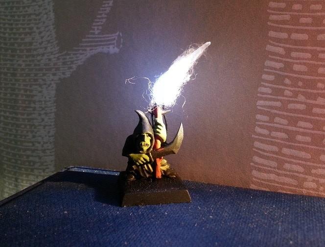 An early prototype Goblin