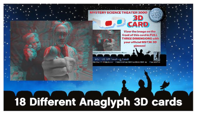 Anaglyph 3D Cards (examples)