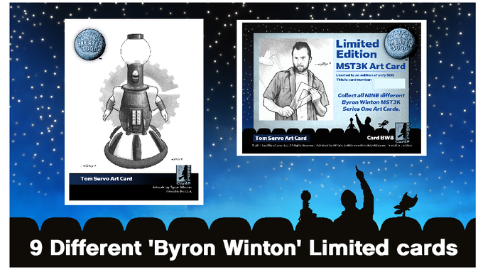 Byron Winton Limited Edition Art Cards (examples)