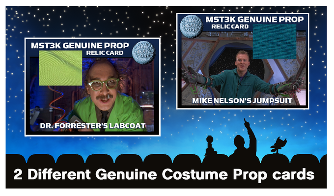 Genuine Costume Prop Cards (actually used in the production of MST3K)