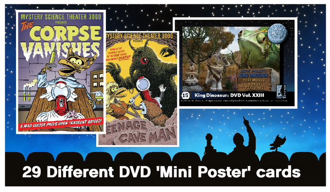 MST3K mini poster and DVD menu art cards (examples)