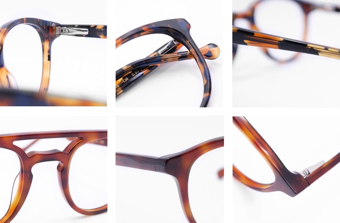 9deb0dc8fcc Each Lance glasses frame is manually produced in over 80 stages of Italian  Acetate