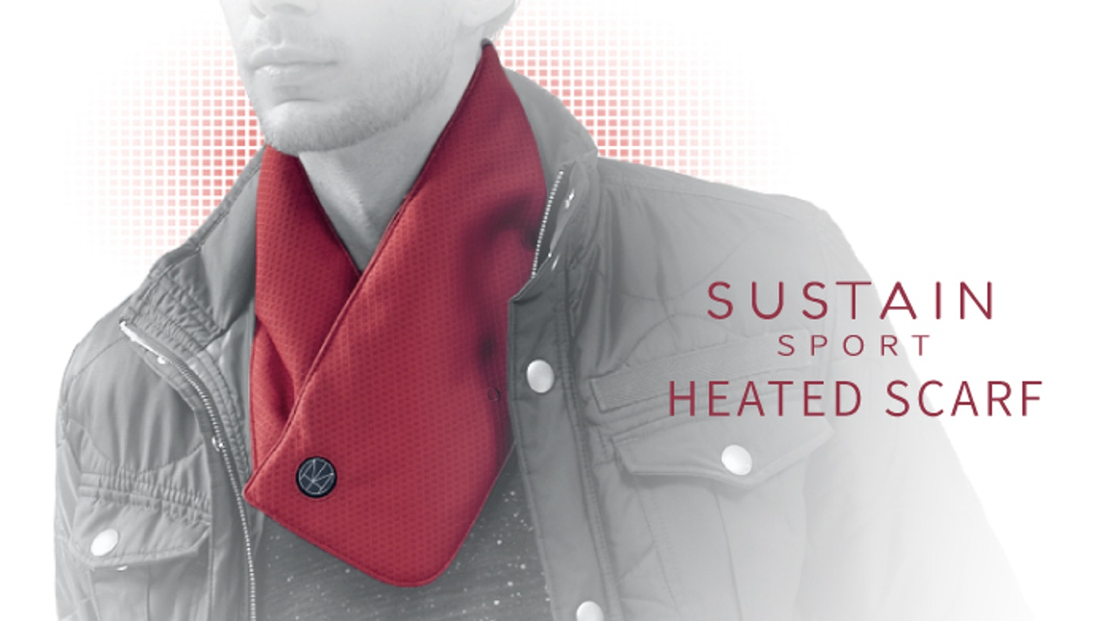 SUSTAIN SPORT Heated Scarf -- The warmest Scarf in the world by HOMI ... 7833bf9e9425d
