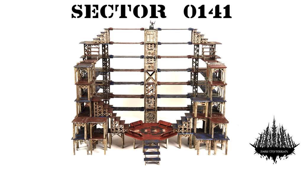 'Sector 0141' – Modular Industrial Wargaming Terrain. project video thumbnail