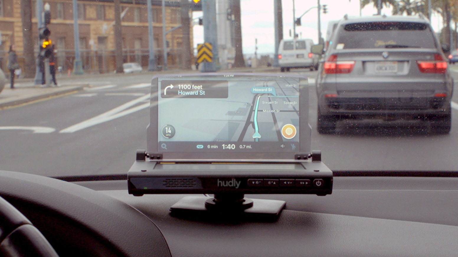 Hudly Wireless: Next Gen Head-Up Display For All Cars