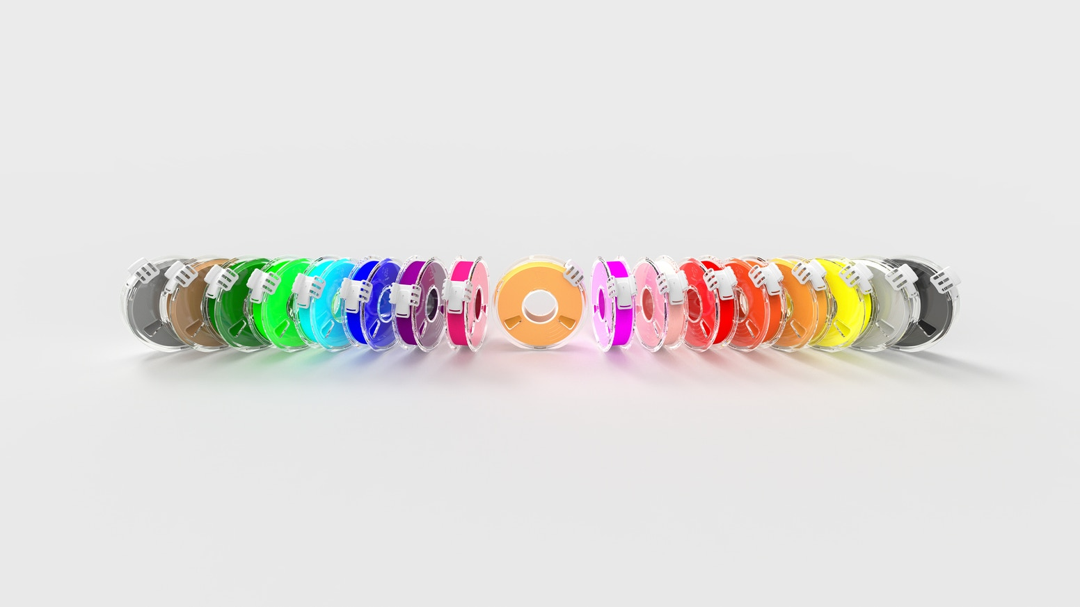 tangle free 3d printing with furling filament by furling technology