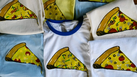 Build Your Own Pizza: Screen Printed Shirt Commissions!