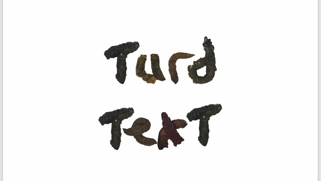 Turd Text project video thumbnail