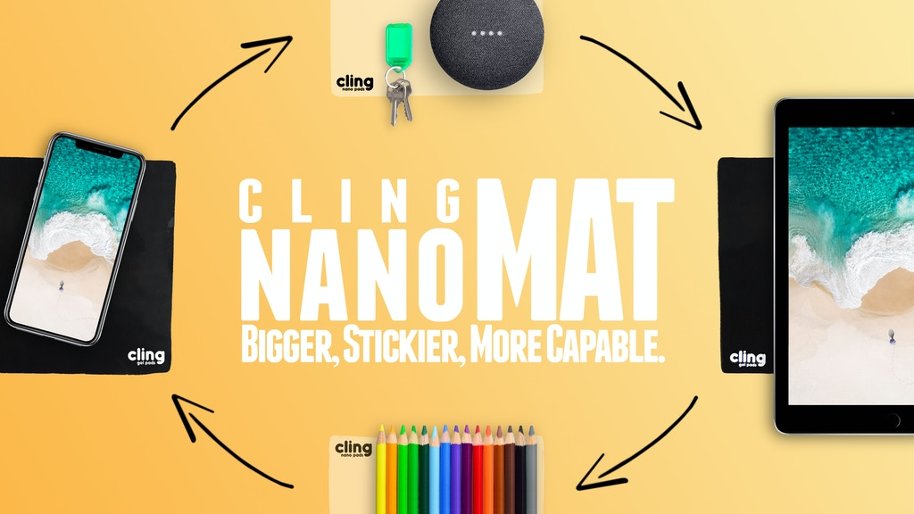 nanoMAT | MEET Our BIGGEST, STICKIEST, MOST CAPABLE Nano Pad project video thumbnail