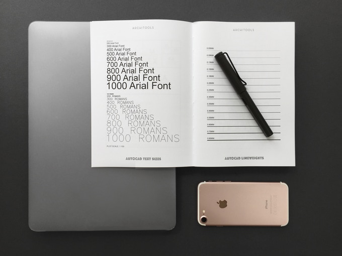 'The Annex' contains essential design references & a monthly planner.