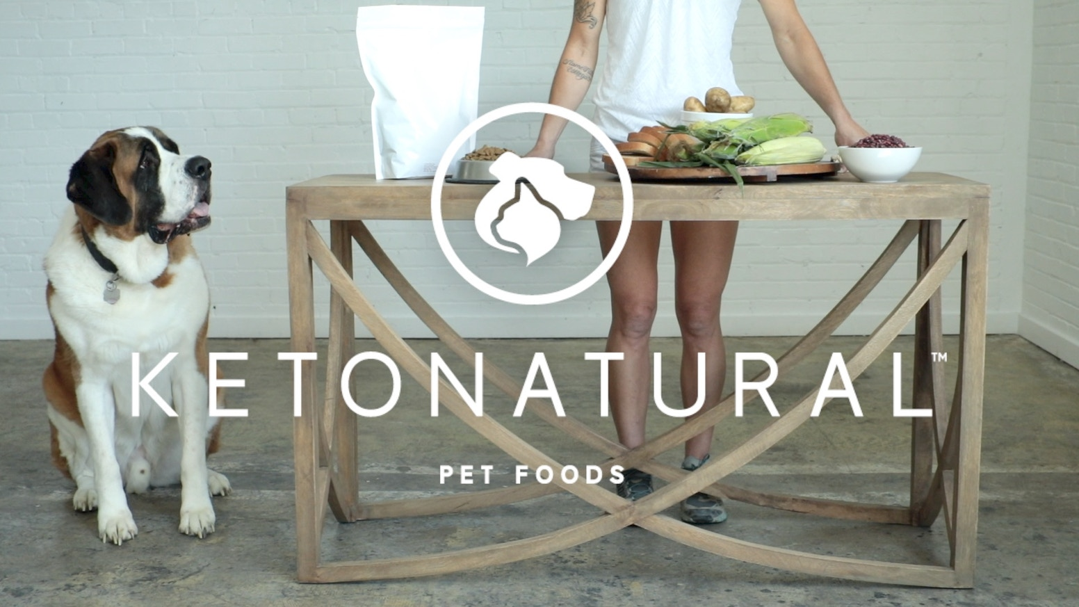 Ketona is a whole new kind of food for dogs. It's got the carbohydrate content of a raw diet, but the cost and convenience of a kibble.
