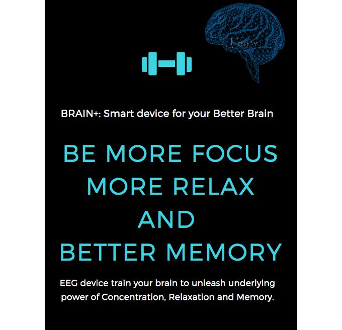 BrainPlus: Smart EEG Device for Your Better Brain 2 by Kridsakon