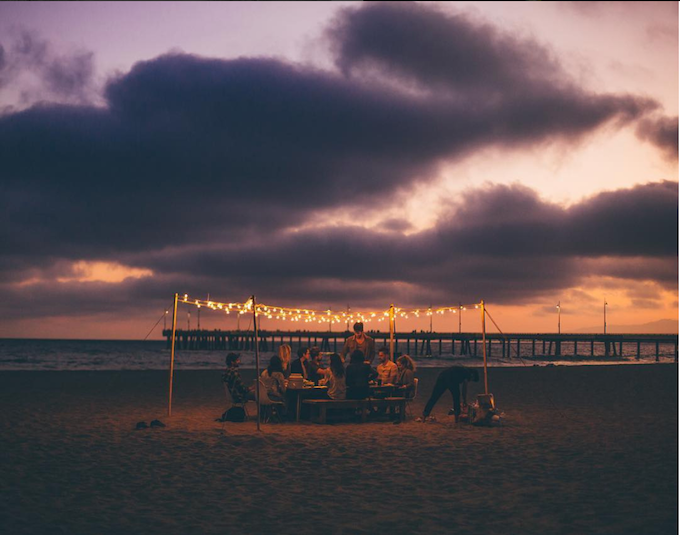Join us in LA for a two-day photo workshop. We'll treat you to a dinner on the beach (just like this one) and teach you some tricks of the trade from behind the lens. *Travel and lodging not included
