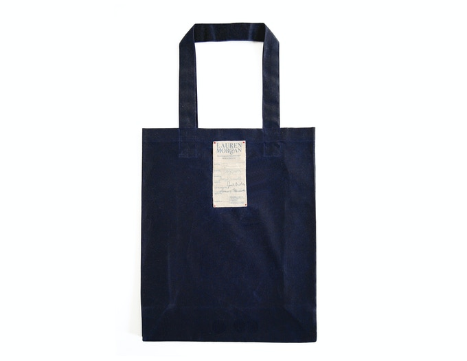 "Tote Bag 12"" W x 15"" H x 5"" D"