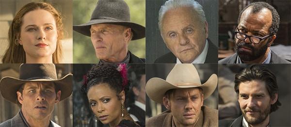 HBO's Westworld Cast