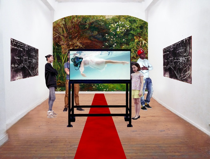 OPHELIA (rendering) in Manhattan presented by Fridman Gallery at New Ear Festival, New York, February 2018
