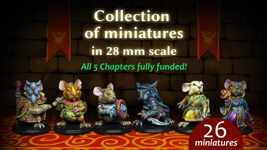 Mouse Adventure by Cartoon Miniatures project video thumbnail