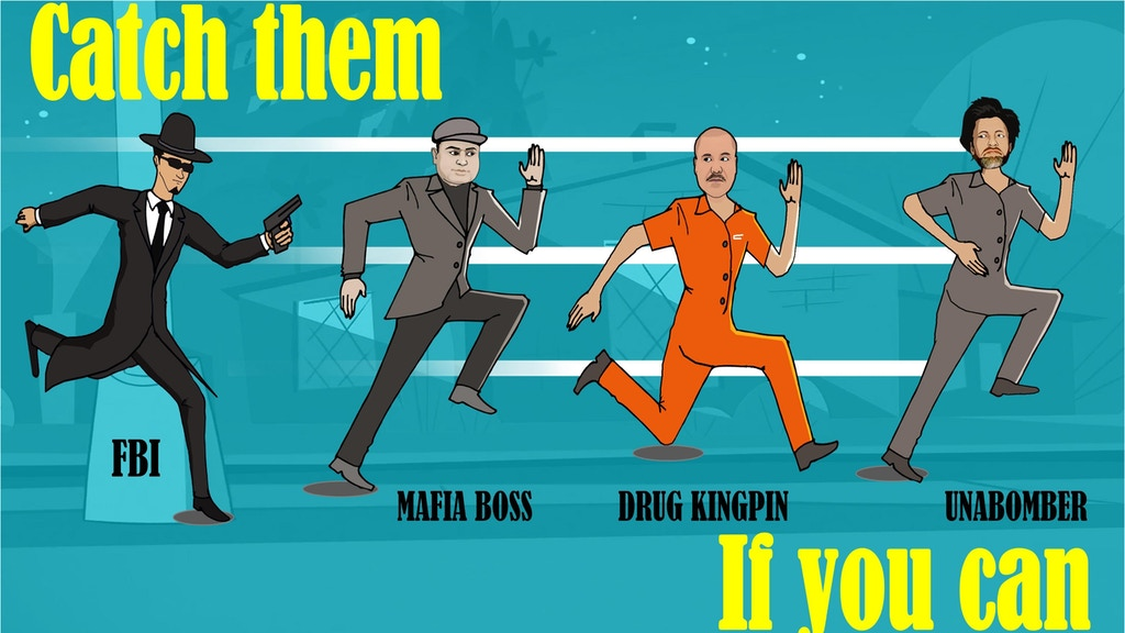 Project image for Catch Them If You Can - An FBI Role-Play Card Game. (Canceled)