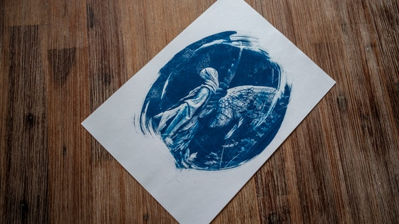 Cyanotype Print - Limited Offer - Unique ART