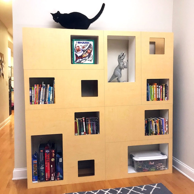 The Cat Case - Pet-friendly Bookcase & Cat Tree Alternative by Can ...