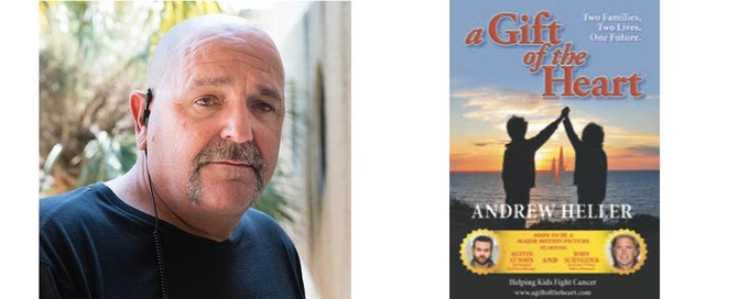 Writer Andrew Heller, and the book A Gift of the Heart, on which the film is based
