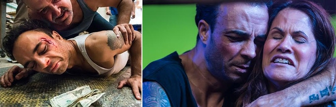 Juan fights to make ends meet. When he learns of Ali's cancer, you feel his pain.