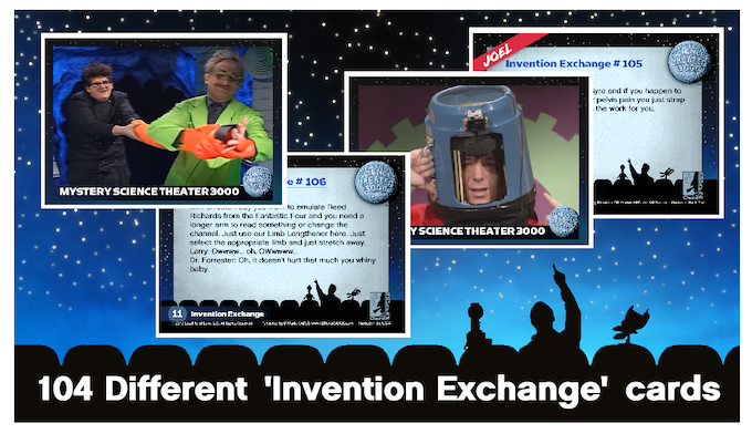 Invention Exchange cards (examples)