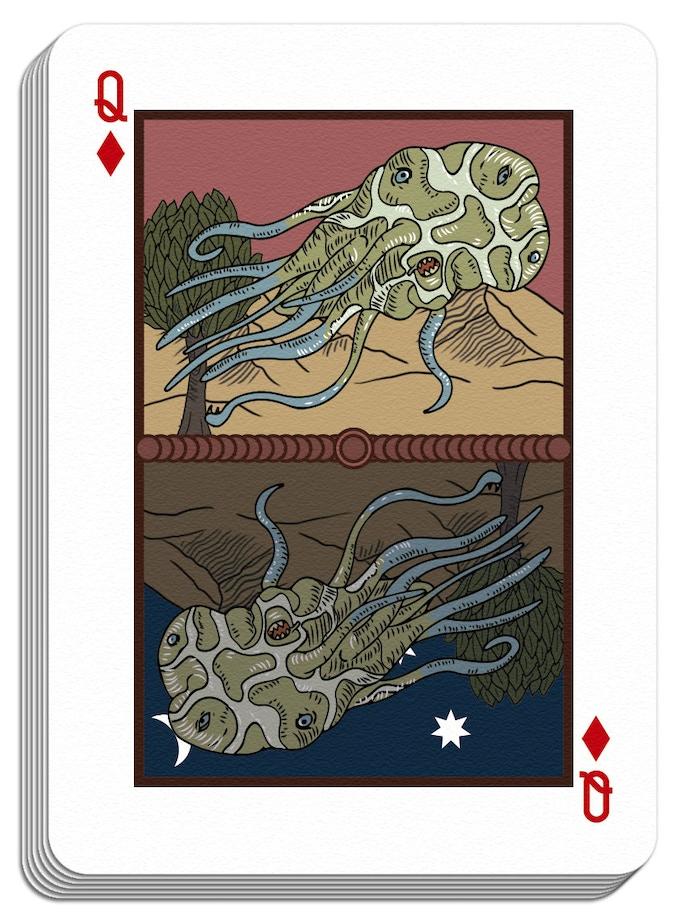 Innsmouth poker card