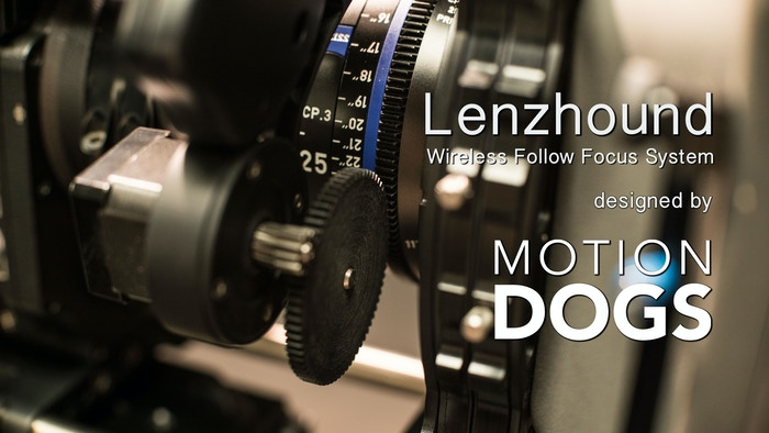 Lenzhound Wireless Lens Motor Control System by Motion Dogs