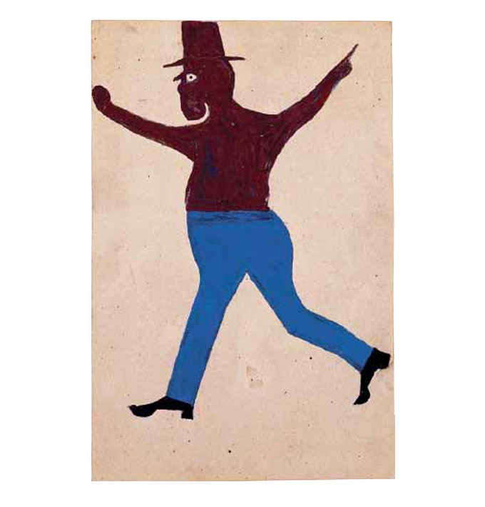 'Fighter' by Bill Traylor