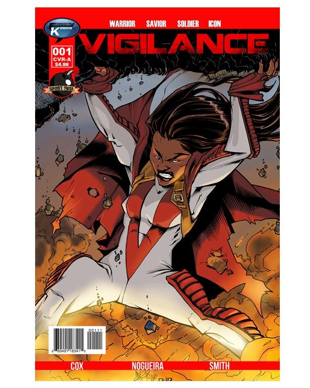Vigilance #1 Cover Image