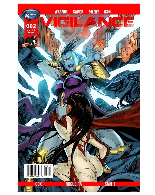Vigilance #2 Cover Image