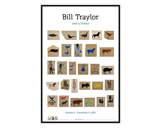 Poster ($150): A beautiful poster of Bill Traylor's art from Just Folk.